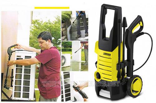 Máy phun rửa áp lực Kacher nằm trong TOP các sản phẩm bán chạy nhất
