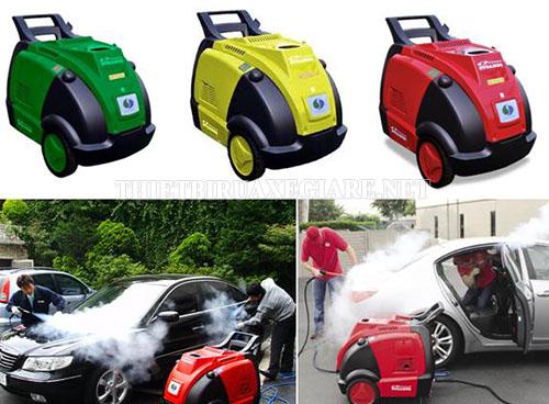 Máy rửa xe hơi nước nóng giúp vệ sinh xe hiệu quả, bảo vệ xe tốt hơn