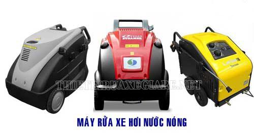Máy rửa xe hơi nước nóng - thiết bị ưu việt trong lĩnh vực chăm sóc xe