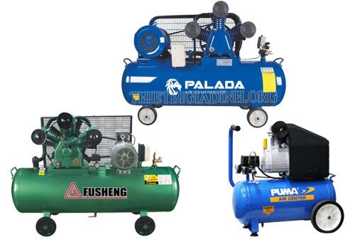 Chọn mua máy nén khí của các thương hiệu uy tín đảm bảo chất lượng