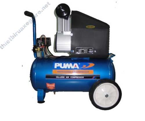 Máy nén không khí hiệu Puma dùng để xì khô