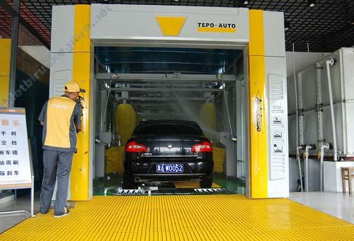 Thiết kế lắp đặt trạm rửa xe tự động tại Hà Nội