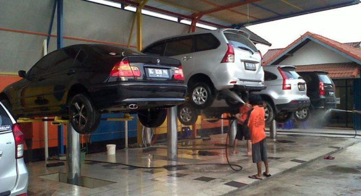 Cầu nâng 1 trụ ô tô