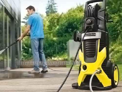 Máy rửa xe gia đình Karcher có giá bao nhiêu?