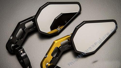 Thay gương chiếu hậu để nâng tính hiện đại cho dòng xe Air Blade