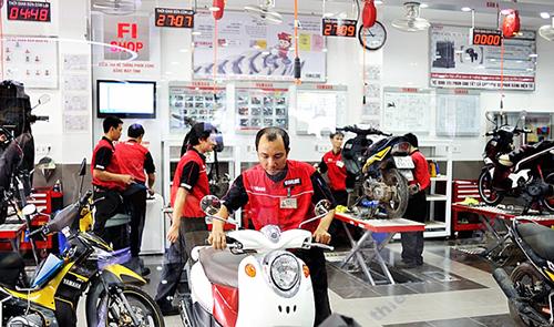 Thời gian bảo dưỡng xe máy định kỳ thường dựa vào chỉ số công tơ mét