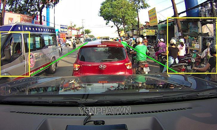 Tầm quan sát rộng giúp người lái dễ dàng xử lý tình huống hơn
