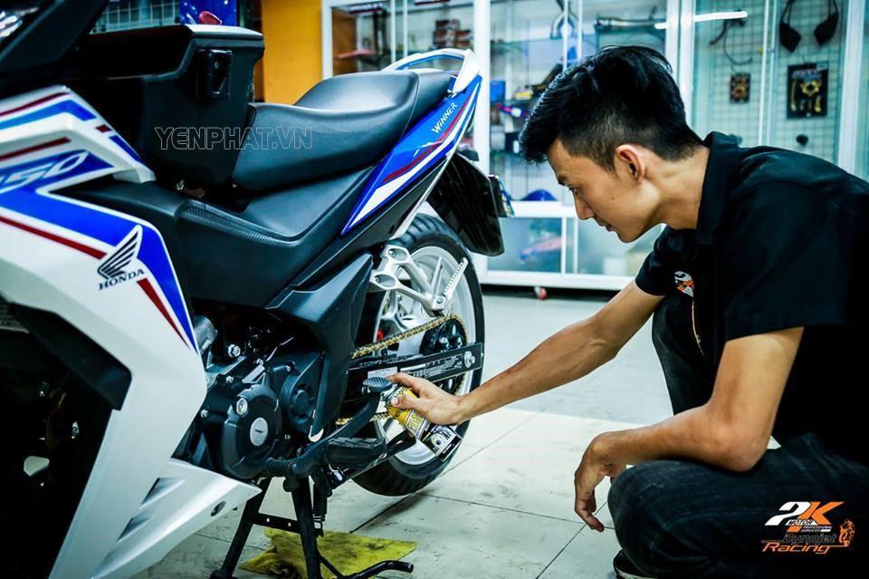 Bảo dưỡng hệ thống truyền lực của xe máy