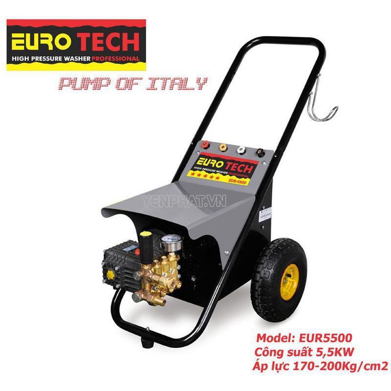 Máy rửa xe 3 pha thương hiệu Eurotech khẳng định vị thế trên thị trường Việt