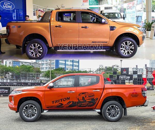 Xe bán tải có kích thước lớn hơn rất nhiều so với các loại xe thông thường