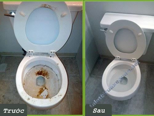 Vì sao cần phải thường xuyên vệ sinh bồn cầu?
