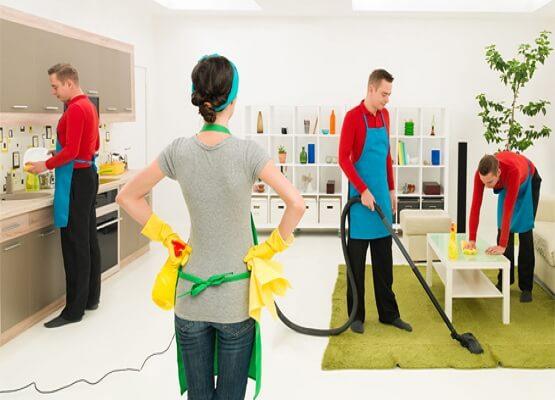 Các hạng mục công việc trong dịch vụ vệ sinh nhà chuyên nghiệp