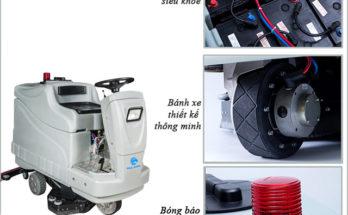 Các loại máy chà sàn ngồi lái