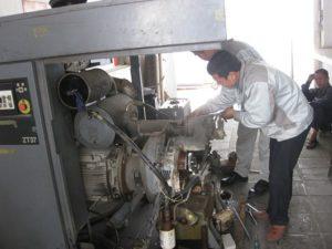 Các sự cố máy nén khí thường gặp và cách sửa chữa máy nén khí hiệu quả
