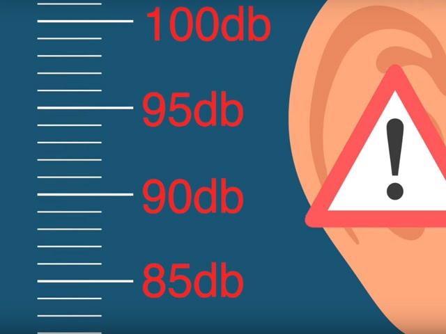 Mức độ tiếng ồn có thể ảnh hưởng xấu cho thính giác con người