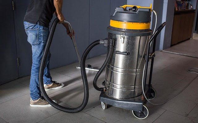 máy hút bụi công nghiệp không ồn