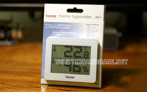 nhiệt ẩm kế Beurer HM16 của Đức