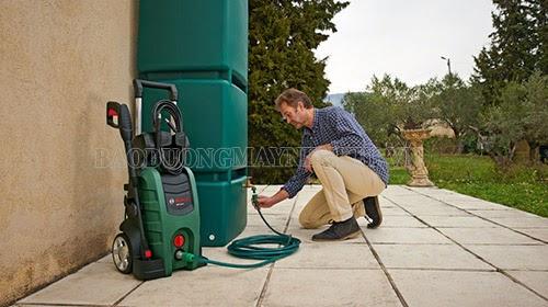 Sửa chữa máy rửa xe không lên nước