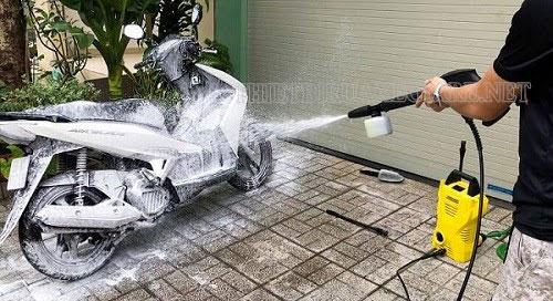 máy rửa xe karcher sản xuất ở Đức