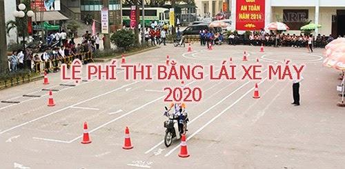le-phi-thi-bang-lai-xe-may-2020-1