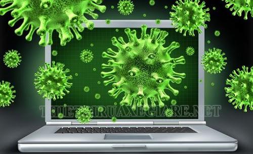 dấu hiệu máy tính bị nhiễm virus