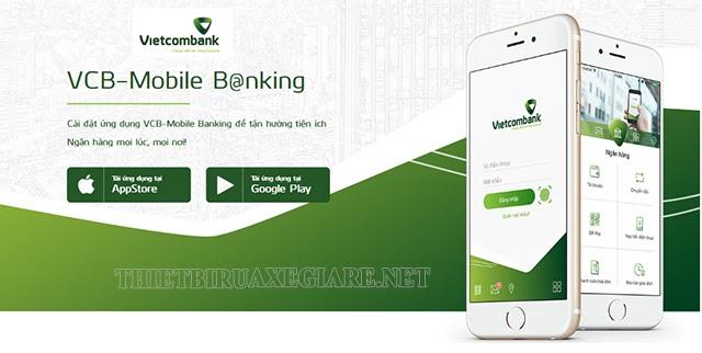 cài đặt hạn mức chuyển tiền vietcombank