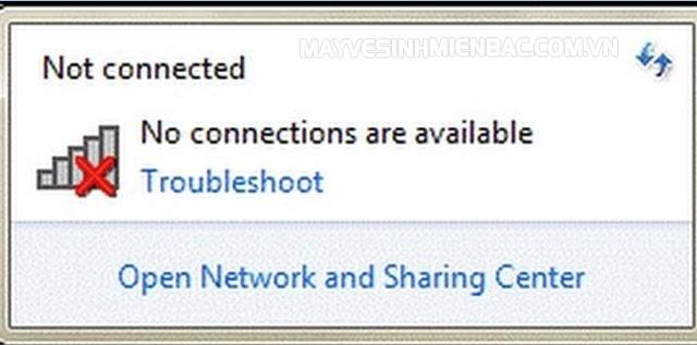 máy tính không vào được mạng wifi