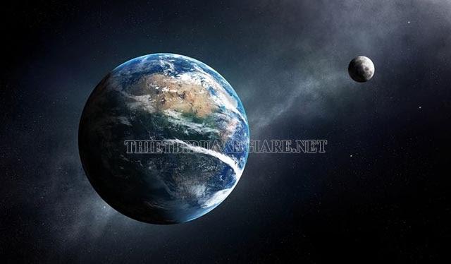 trái đất trong hệ mặt trời