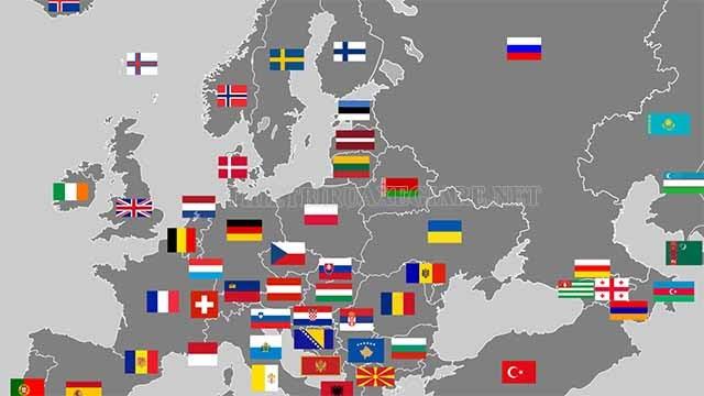 cả thế giới có bao nhiêu quốc gia