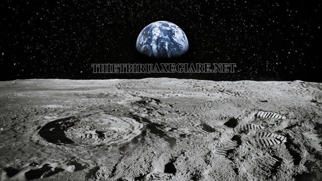 trên mặt trăng có gì