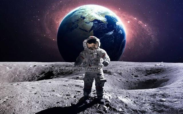 trọng lực trên mặt trăng