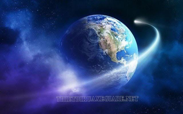 mặt trăng quay quanh trái đất