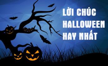 Lời chúc halloween hay nhất